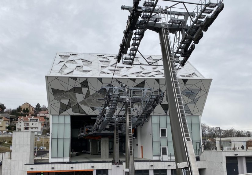Zagreb Cable Car opening